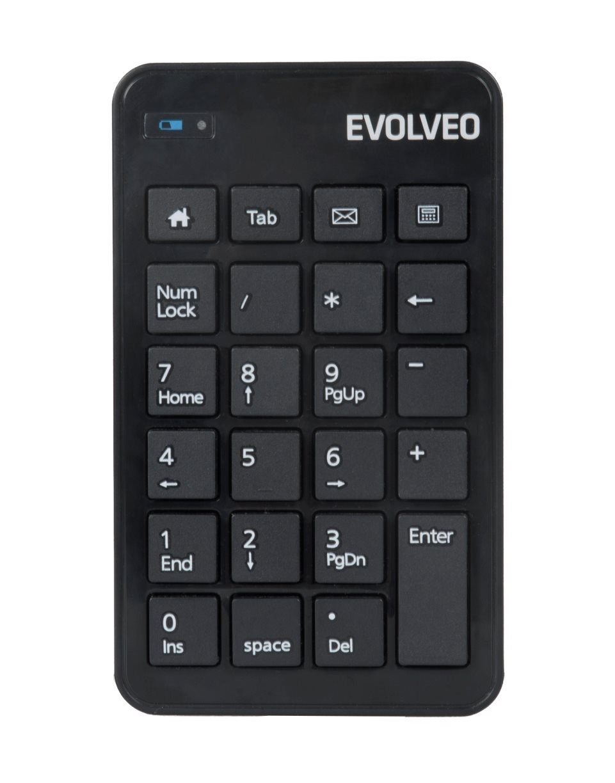 EVOLVEO WN160, bezdrátová numerická klávesnice - WN160