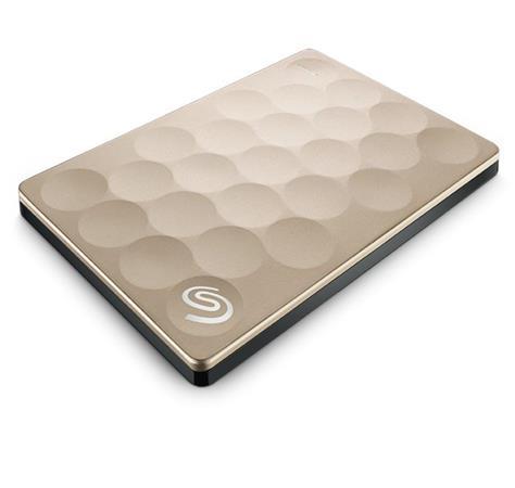 "Seagate Backup Plus Ultra Slim, 1TB externí HDD, 2.5"", USB3.0, gold - STEH1000201"