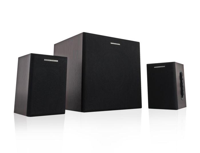 Modecom reproduktory MC-MSF50, 2.1, 50W RMS, hnědo-černé - G-Q-MSF50-BRO-2
